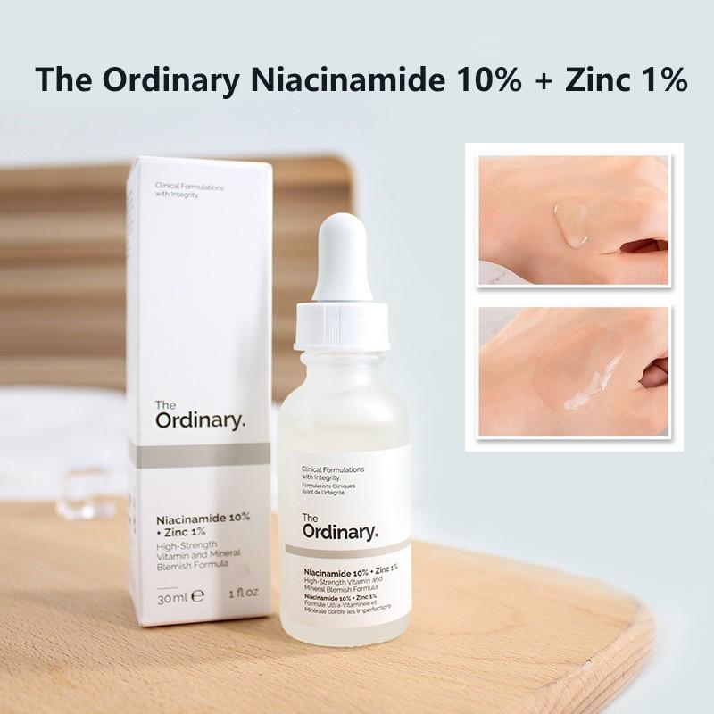 Tinh chất trị nám chân sâu The Ordinary Niacinamide 10% + Zinc 1% giúp chống lão hóa và làm sáng màu da