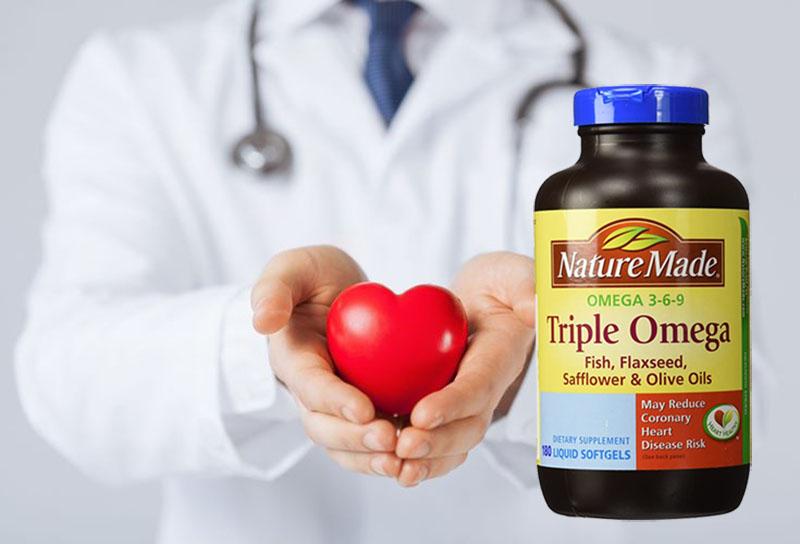 Công dụng nổi bật nhất của Omega 3-6-9 là tăng cường sức khỏe hệ tim mạch và thần kinh