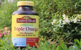 Đánh giá sản phẩm Triple Omega 3-6-9 Nature Made