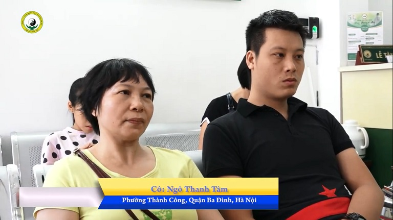 Mẹ con anh Ngọc Huy