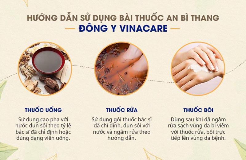 Cách sử dụng thuốc An Bì thang trị viêm nang lông