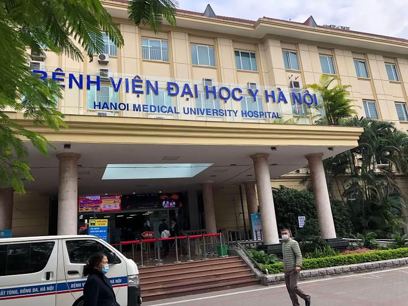 Bệnh viện Đại học Y Hà Nội là địa chỉ khám chữa bệnh da liễu hiệu quả
