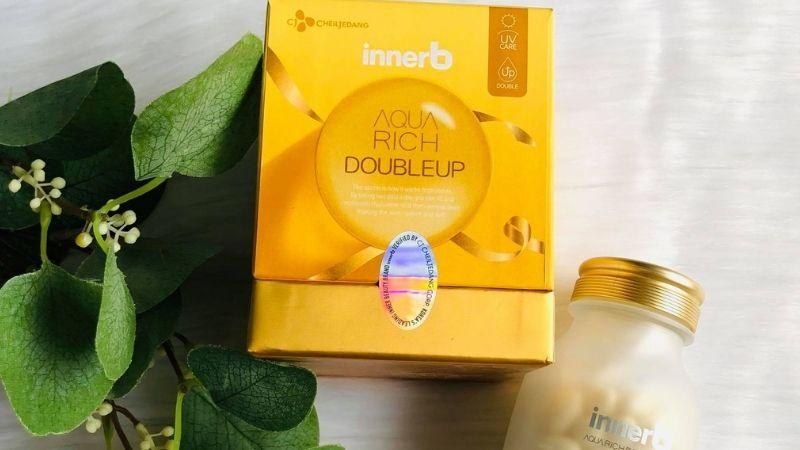 Viên uống đẹp da Innerb Aqua Rich Double Up