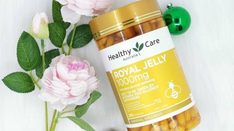 Healthy Care Royal Jelly bổ sung dưỡng chất chăm sóc da