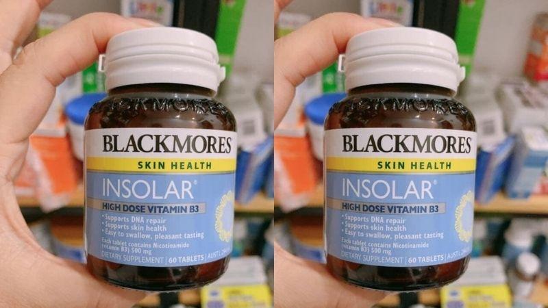 Tham khảo sản phẩm Blackmores Insolar High Dose Vitamin B3
