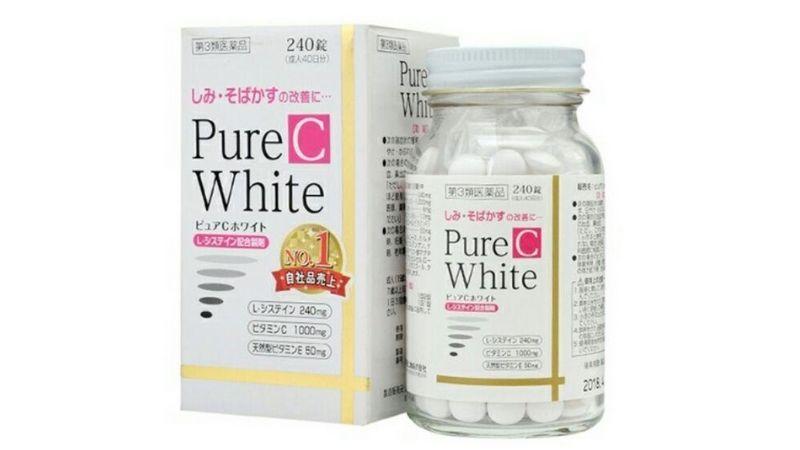 Dưỡng da với Pure White C