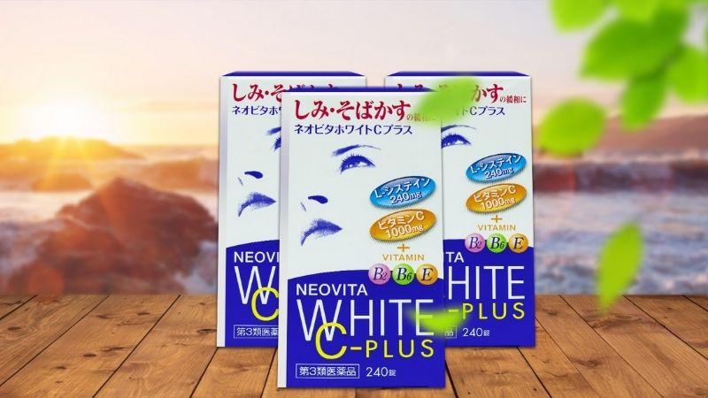 Viên uống bổ sung dưỡng chất làm trắng da Vita White Plus C.E.B2