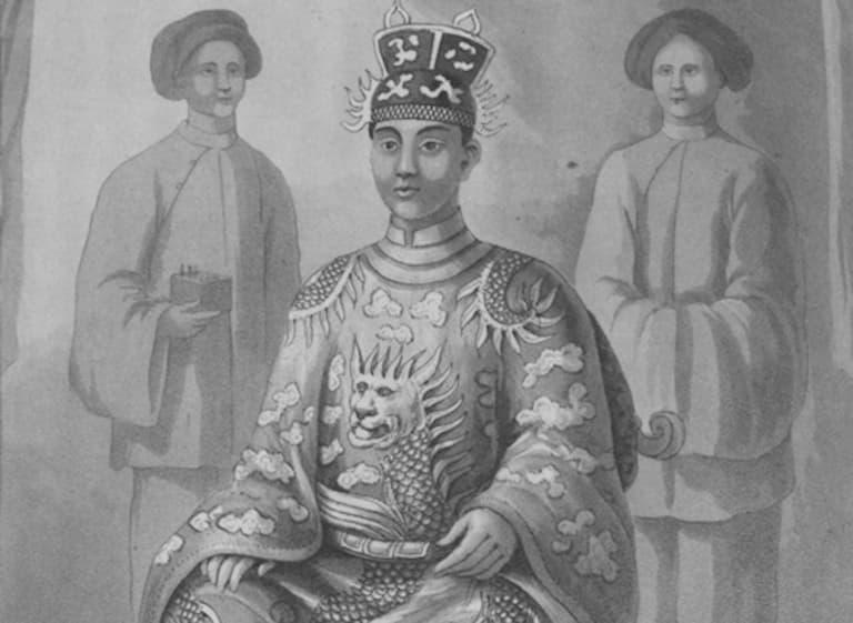 Vua Minh Mạng trong lịch sử triều Nguyễn được biết đến vị vua có thể chất tiên thiên