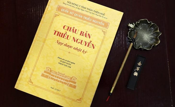 Châu Bản Triều Nguyễn – Ngự dược Nhật Ký – chép những bài thuốc cổ của Thái Y Viện triều Nguyễn
