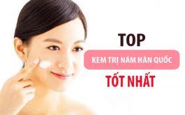 """Top 13 sản phẩm kem trị nám chân sâu Hàn Quốc """"khuấy đảo"""" thị trường hiện nay"""