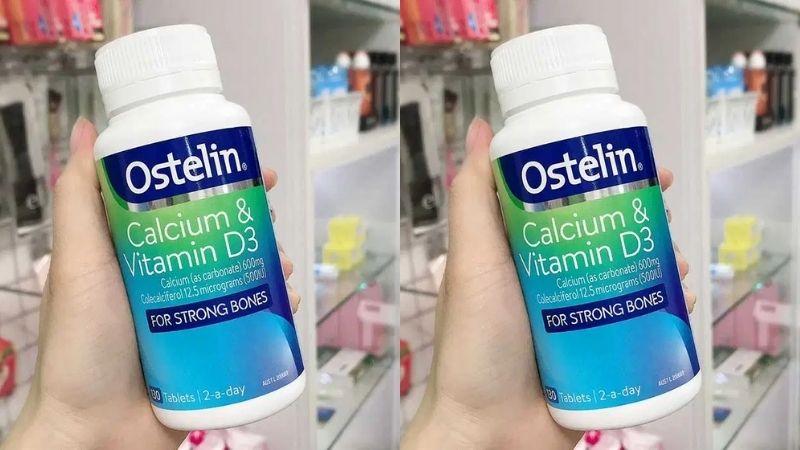 Thực phẩm bổ sung canxi cho bà bầu Ostelin