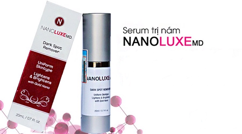 Nanoluxe MD Dark Spot Remover là một gợi ý hoàn hảo giúp xóa bỏ nám da cực nhanh và loại bỏ tận gốc chân nám