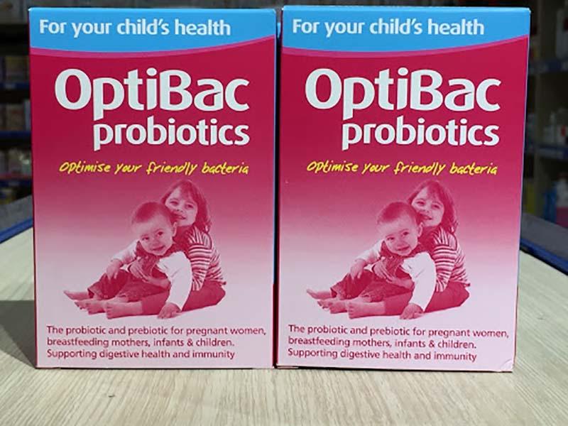 Thực phẩm chức năng hỗ trợ tiêu hóa Optibac Probiotic