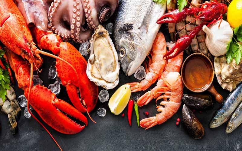 Hải sản biển tốt cho nam giới bị yếu tinh trùng