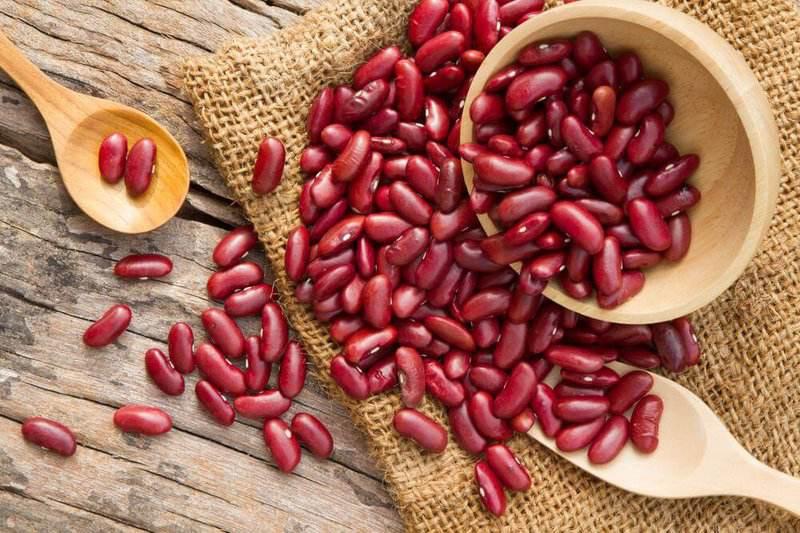 Bột đậu đỏ có thể trị viêm nang lông