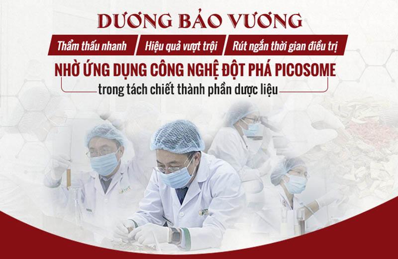 Công nghệ Picosome giúp tối ưu hàm lượng dưỡng chất