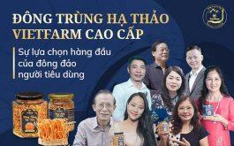 """Đông trùng hạ thảo bán tự nhiên Vietfarm chất lượng tương đương đông trùng hạ thảo Tây Tạng được hàng triệu người tiêu dùng """"săn lùng"""""""