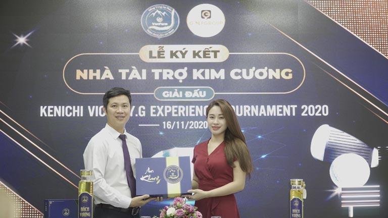 Lễ ký kết giữa Đông trùng hạ thảo Vietfarm và tập đoàn GolfGroup